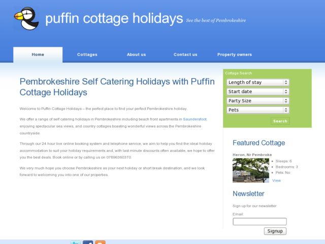 Puffin Cottage Holidays