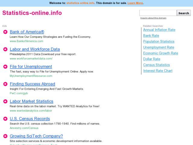 Statistics Online