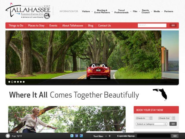 Visit Tallahassee - Florida's Capital City