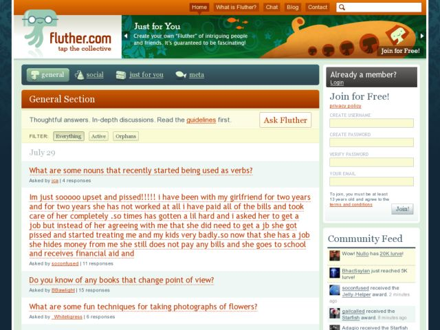 Fluther Q&A