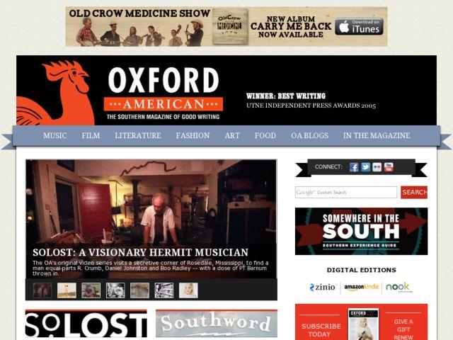 Oxford American Magazine