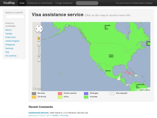 VisaMap