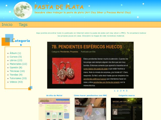 screenshot of Pasta de Plata