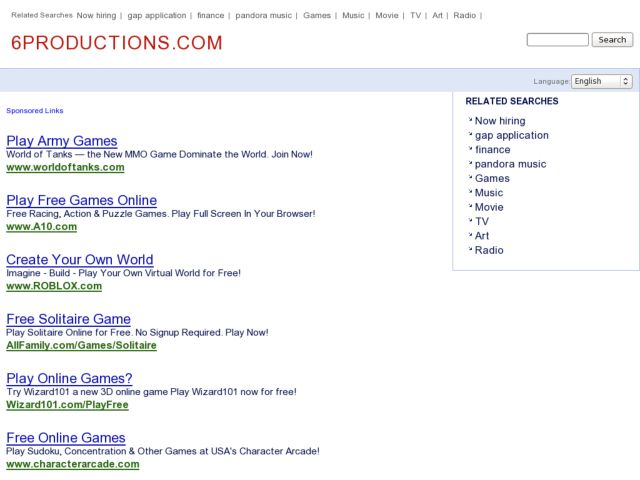 screenshot of 6Productions Lawrence
