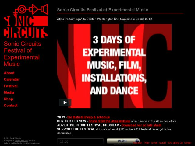Sonic Circuits Festival of Experimental Music