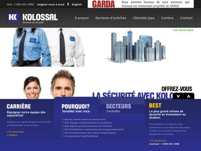 screenshot of Kolossal