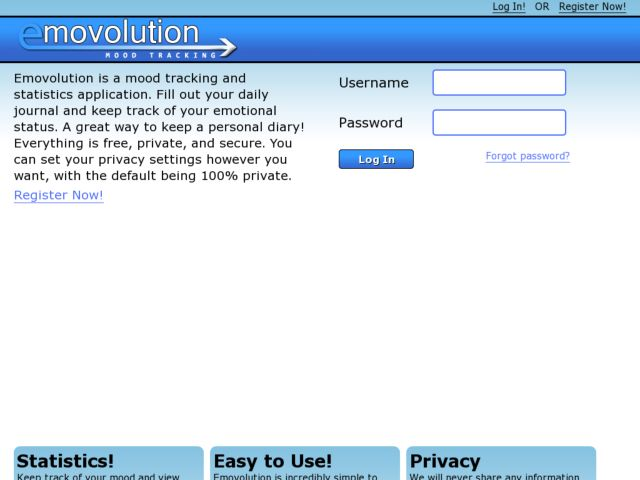 screenshot of Emovolution
