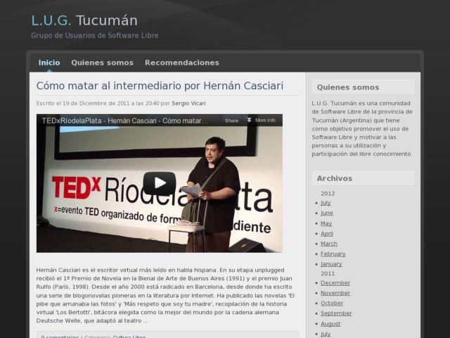 Free software community Tucuman