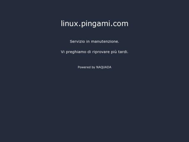 screenshot of Linux Planet Pingami.com