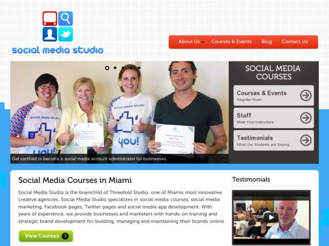 The Social Media Studio