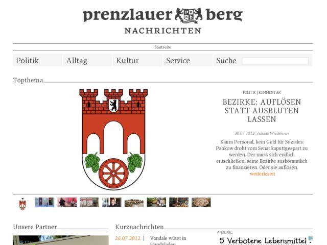 Prenzlauer Berg Nachrichten