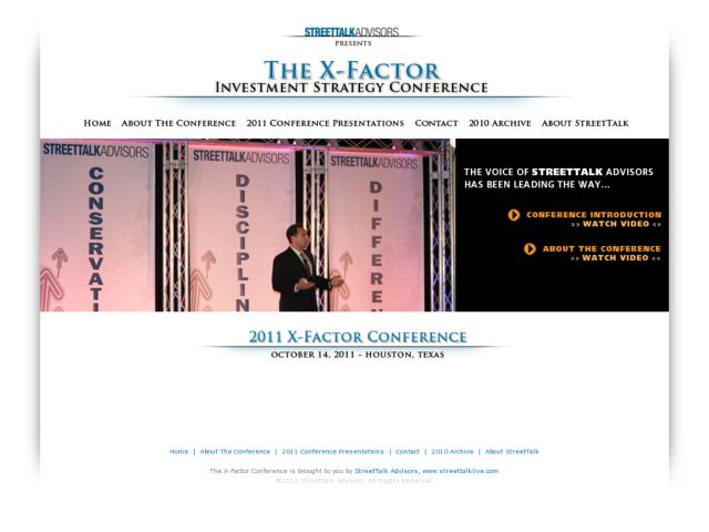 The X-Factor Conference