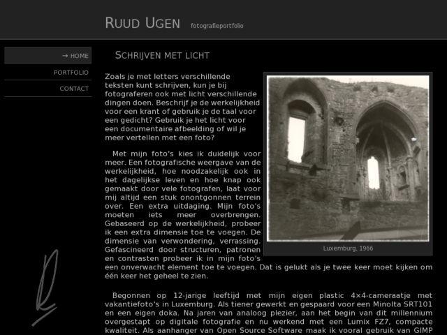 Ruud Ugen's Photography Portfolio