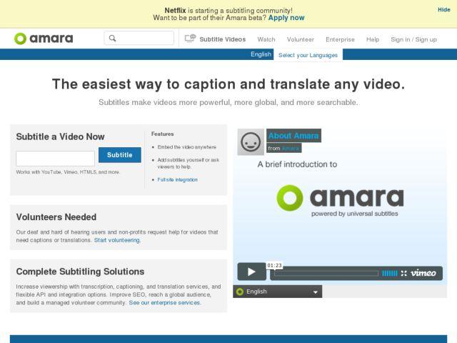 Universal Subtitles