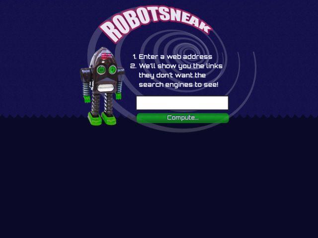 Robotsneak