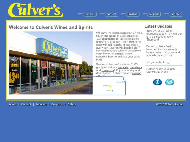 CulversLiquor.com