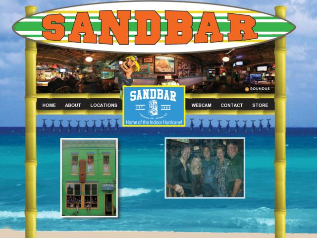 screenshot of The Sandbar