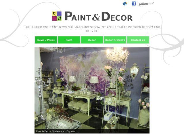 screenshot of Paint & Decor DIY