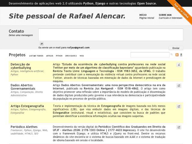 screenshot of Rafael Labs