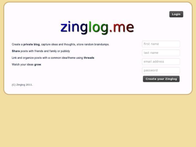 Zinglog