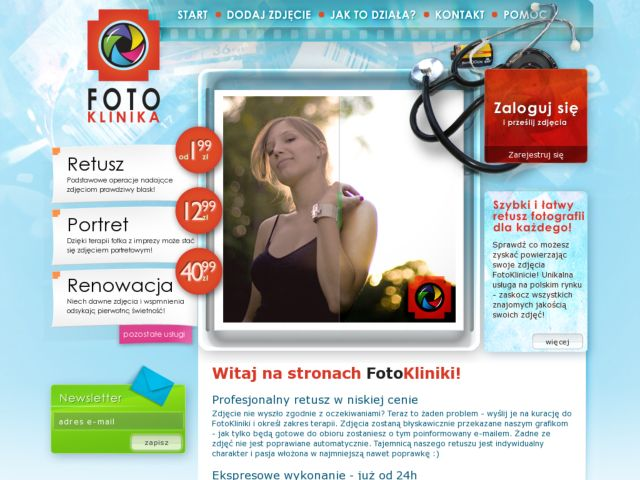 screenshot of FotoKlinika - fast and rapid photos retouch