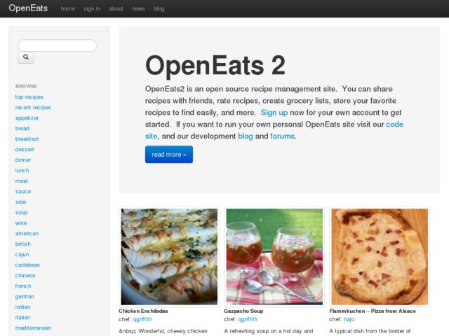 OpenEats