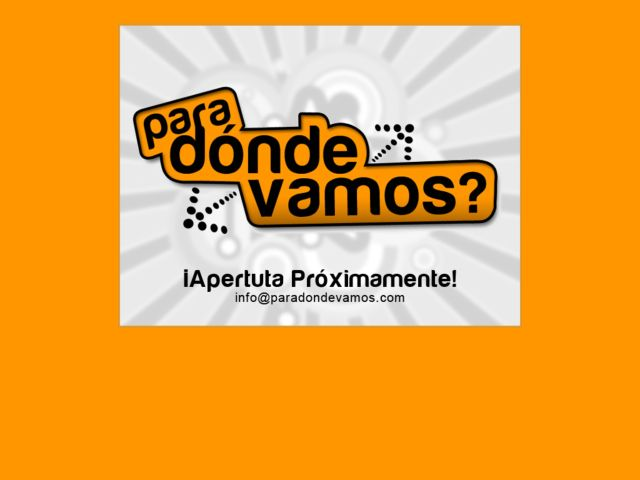 screenshot of Paradondevamos.com: Colombia