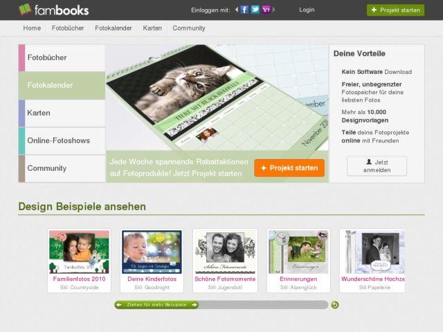 FamBooks - The free online photobook