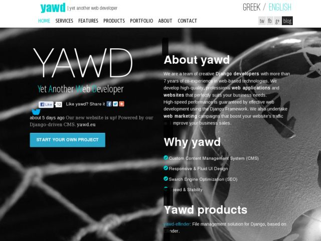 Yawd | Django web development