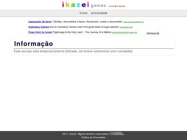 IKAZEI games
