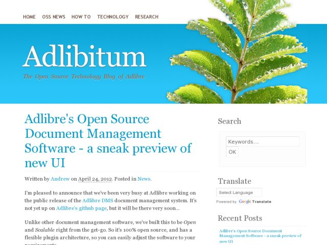 Adlibitum - Open Source Technology Blog of Adlibre