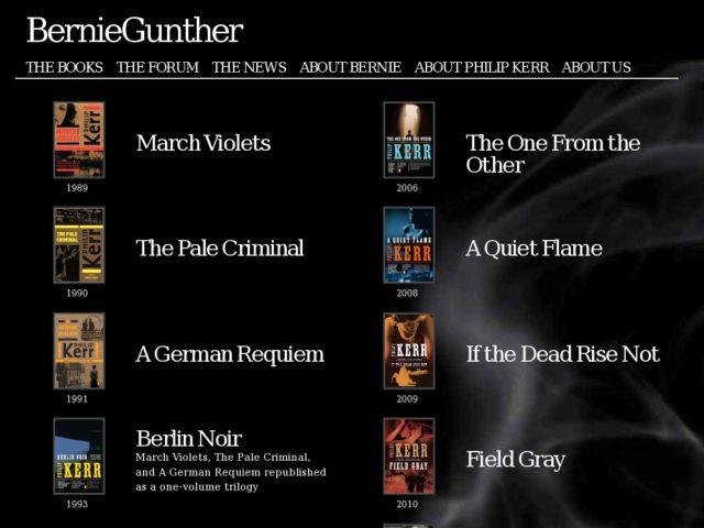 Bernie Gunther.com