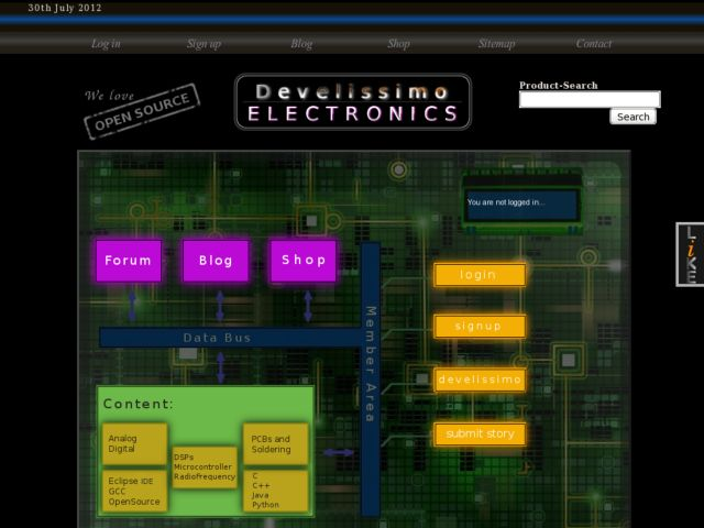 electronics open source development