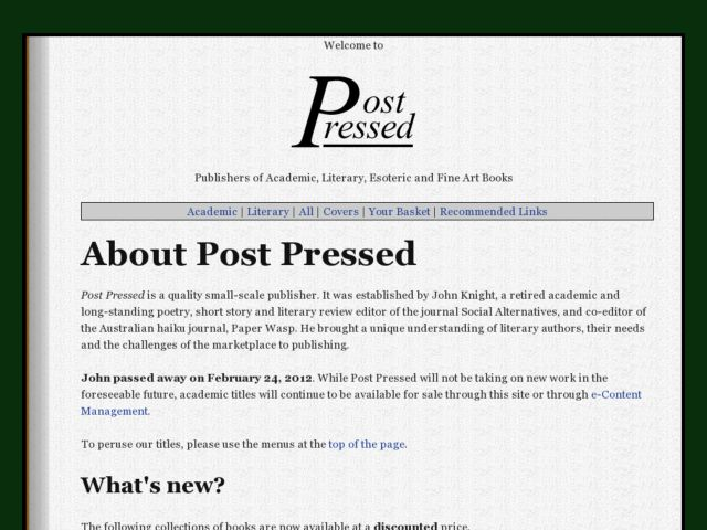 PostPressed
