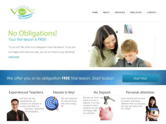 Visual Text Education