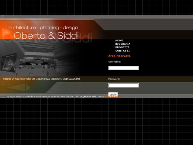 screenshot of Oberto e Siddi Associati