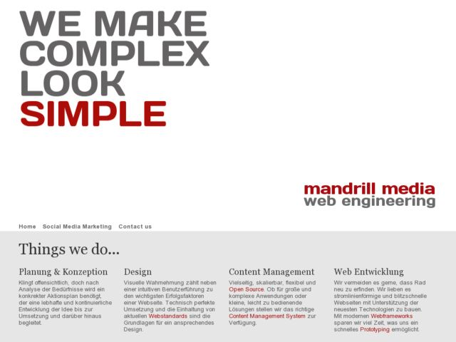 Mandrill Media - Facebook & Django Developer
