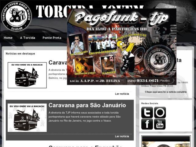 screenshot of Torcida Jovem Ponte Preta (Ultras)