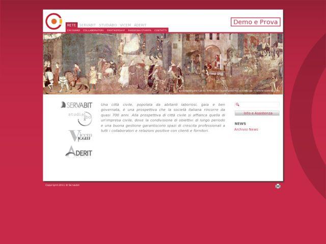 screenshot of Servabit