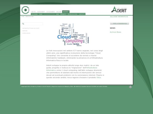 screenshot of Aderit