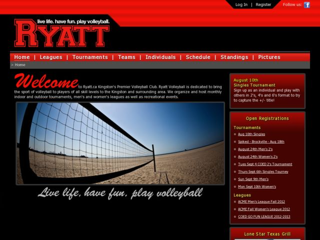 Ryatt - live life. have fun. play volleyball.