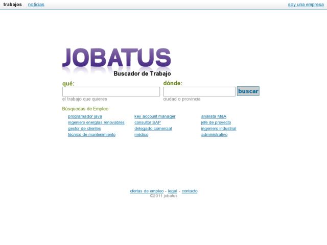 Job offers - Jobatus