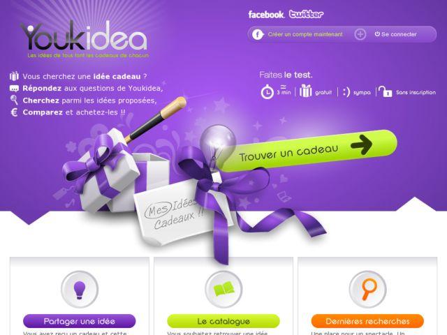 screenshot of Youkidea