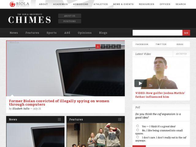 screenshot of The Chimes