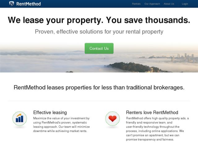 screenshot of Tenant Screening - Tenant Background Check - Tenant Check | RentMethod