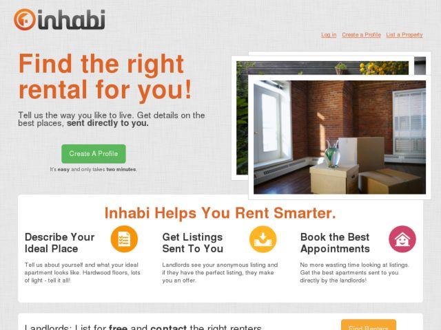 screenshot of Inhabi