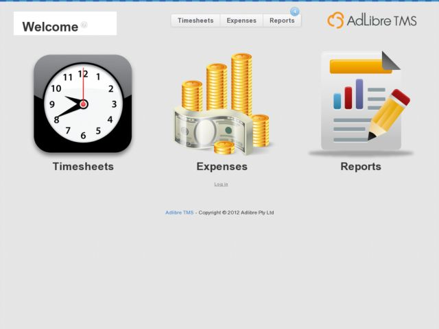 Adlibre TMS - Timesheet & Expense Tracking software