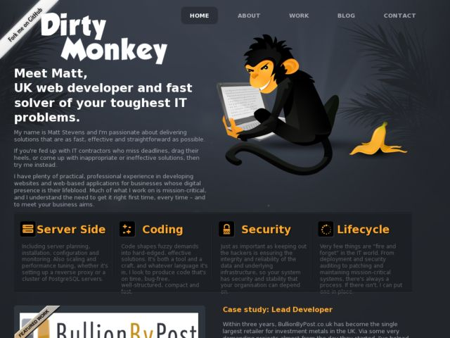 Django Developer - Dirty Monkey