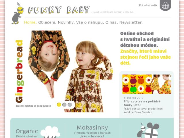 screenshot of FunkyBaby