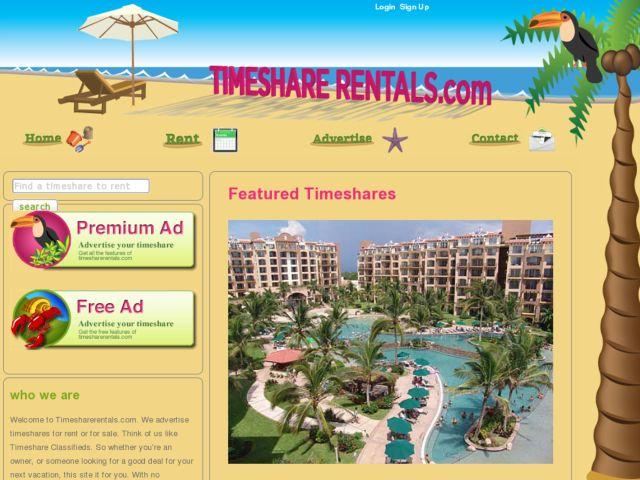 Timeshare Rentals